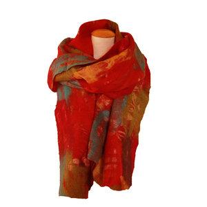 Sjaal-gevilt-op-sarizijde-multicolor
