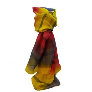 100%-zijde-geel-rood-india